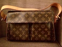 Louis Vuitton mod. Manhattan Originale (non copia)borsa in pelle