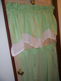 green curtains Hagerstown