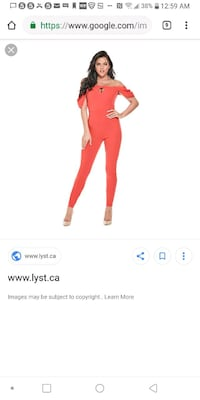 Women's Small (Guess) JumpSuit ( Brand New)