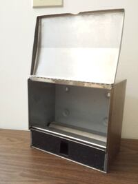 black and gray wooden TV stand Edmonton