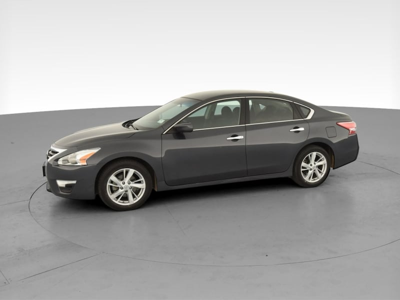 2013 Nissan Altima sedan 2.5 SV Sedan 4D Gray  3