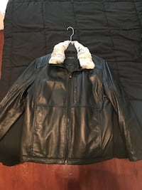 Leather bomber jacket Philadelphia, 19139