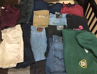 Teenage boys clothes 30-32 pants and large tops  Calgary, T3M 0E8