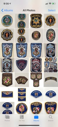 Exceptional Police Patch Collection Alexandria, 22309