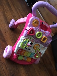 baby's pink and purple activity walker Watsonville, 95076