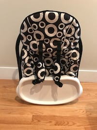 Toddler's white and black highchair with tray New York, 11378