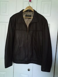 Stanford Men's Brown Leather Jacket    West Springfield