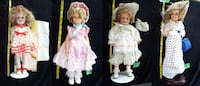 Shirley Temple Dolls Christmas Doll Porcelain Alexandria