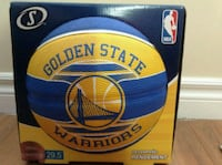 blue and yellow Golden State Warriors basketball Toronto, M1L 2T6