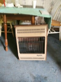 natural gas wall heater or natural gas fireplace logs both vent-free