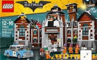 Lego Batman Movie 70912 Arkham Asylum New Markham