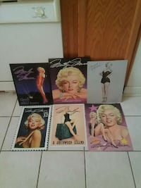 Marilyn Monroe painted on tin all for just$20.00