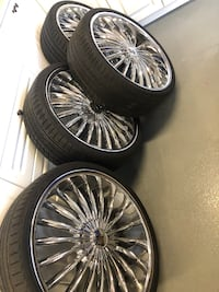 22inch Rims and All Season Tires For Sale Toronto, M9M 1A1