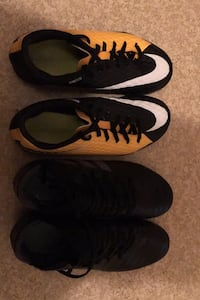 Two pairs of cleats both size 6y(it's 100 for both) Vancouver