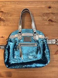 Coach Blue Sequin Purse Kitchener, N2A 0G7
