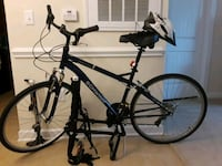 black and blue hardtail mountain bike Knightdale, 27545