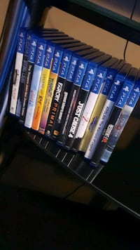 ps4 games $150 for all.  Calgary, T3K 0C3