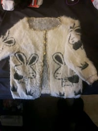 Hello kitty char4actor cashmere sweater Surrey, V3T 1Z7