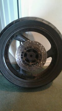 Motorcycle wheel with sprocket 160/60/17 Everett, 98201