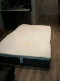 Ikea Haugsvar double mattress with memory foam pad Washington, 20002