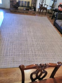 Crate and Barrel Tufted 12x9 Area Rug Garland, 75040