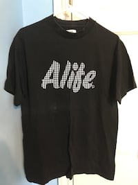 Alife size medium black tshirt 3727 km
