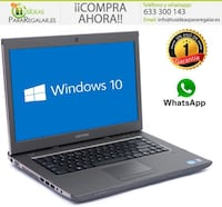 "Portátil Dell Vostro 3560, Cam, 15,6"", 8Gb Ram, Windows 10 Gratis Madrid"