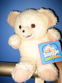 "Brand New with Tags Vintage ""Snuggles"" Teddy Bear Plush Doll Toy Winnipeg"