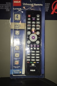 Never used Remote control
