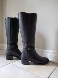 Women's Coach Leather Riding Boots Vaughan, L4H 1N3