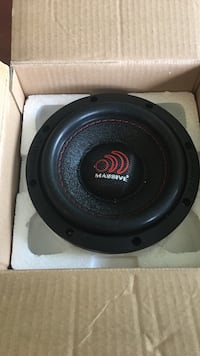 I have 2 6.5 inch subwoofers BRAND NEW. Just don't have a place for them.