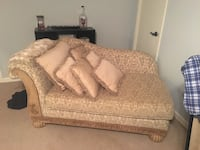 Brown and beige floral sofa Hixson, 37343