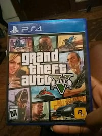 Grand Theft Auto Five PS4 game case Niles, 49120
