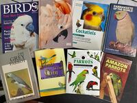 PARROT BOOKS; African Grey, Cockatoo, Parakeets, Amazon's, and more! North Port, 34287