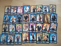32 cartes Slam Attax
