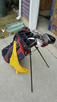Golf clubs and bag Fort Belvoir