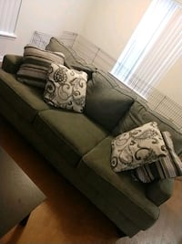 2 ashley couches &pillows Jacksonville, 28543