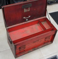 Snap On Vintage Red Tool Box Westminster