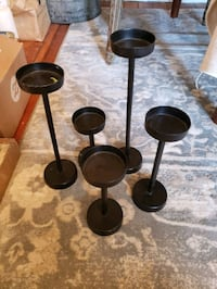 Black modern candlesticks  Arlington, 22206