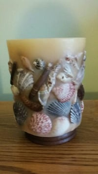 Seashell candle unburned Laurel, 20724
