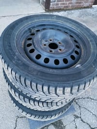 HANKOOK (i Pike RS) Winter Tires with Rims Markham, L3R 4H9