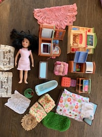 Doll house furniture and doll Mc Lean, 22101