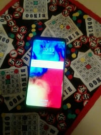 LG STYLO 4 PLUS, BLUE  BOOST MOBILE WITH STYLUS  GOOD CONDITION $75.00