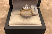 Size 7 Fashion Engagement - Wedding Ring -  This is a cubic zirconia Boston, 02125