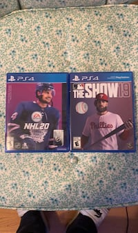 Nhl 20 & mlb the show 19 for PS4 Surrey, V3Z 9W4