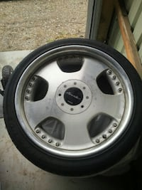Low profile rims and tires. 18 inch set of 4