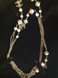 Chanel Pearl and chain beaded s multi-layered necklace Toronto, M3C 4B9