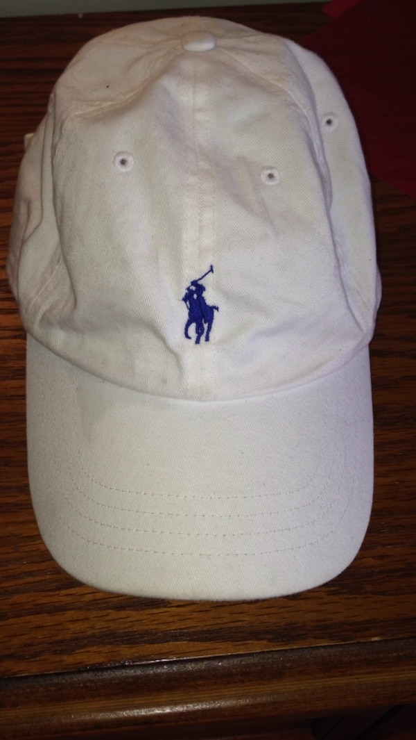91fd4af47eccb Used White polo hat for sale in Oshawa - letgo