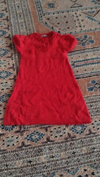 mini robe rouge 3 boutons cap manches Grenoble, 38100