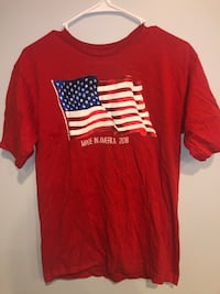 Men's Red Decal T-shirt  56 km